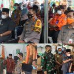 Wako AJB Ikuti Launching Gerakan Serempak Pekan Vaksinasi Covid-19 se-Provinsi Jambi