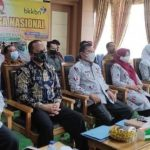 Wako Ahmadi Ikuti Peringatan Harganas dan Launching Vaksinasi Covid-19 Bagi Bumil, Menyusui dan Anak 12-18 Tahun